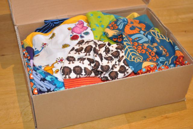 Beanies-Karton