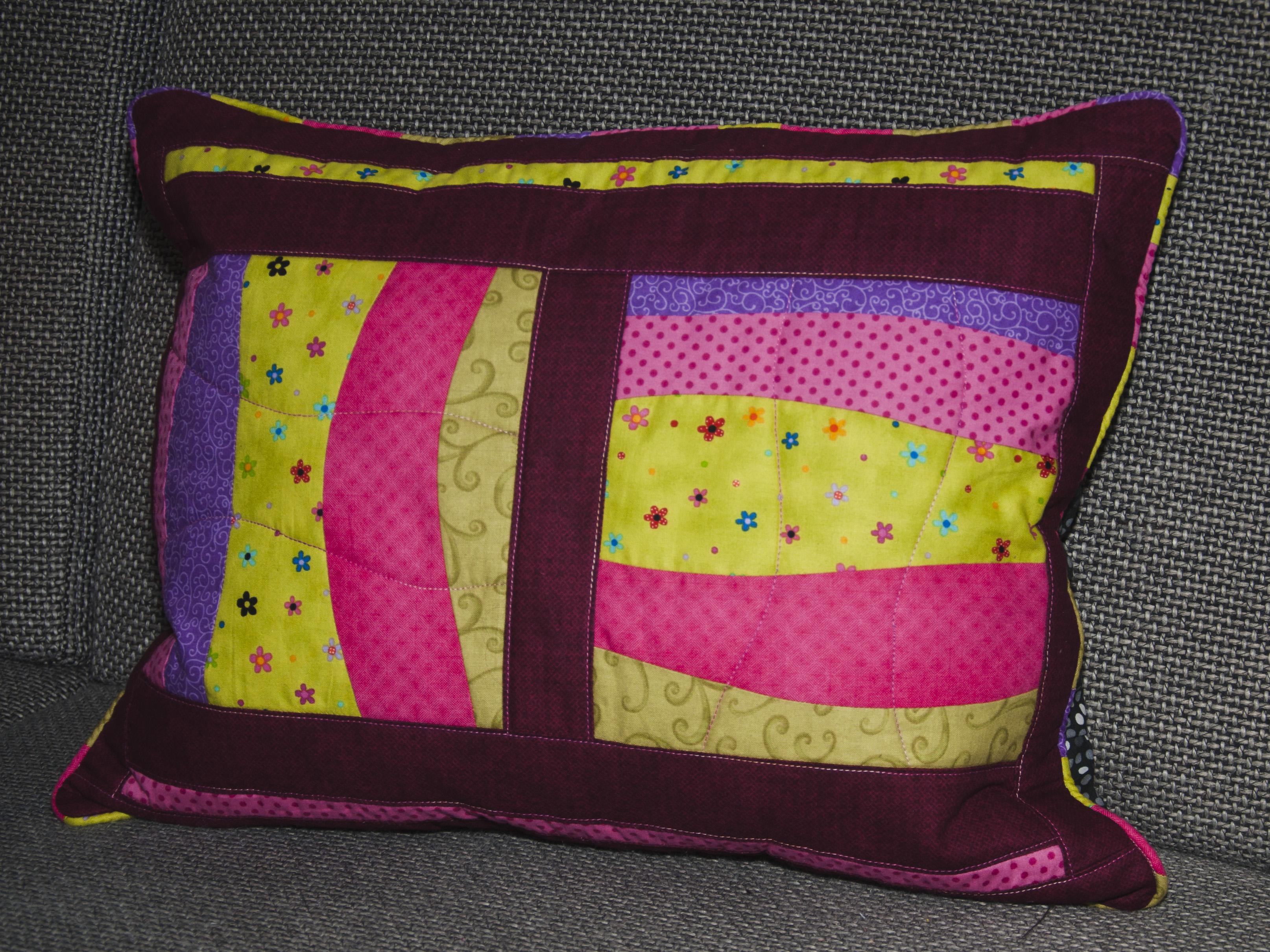 ein kissen zur decke f r meine oma sewing elch. Black Bedroom Furniture Sets. Home Design Ideas