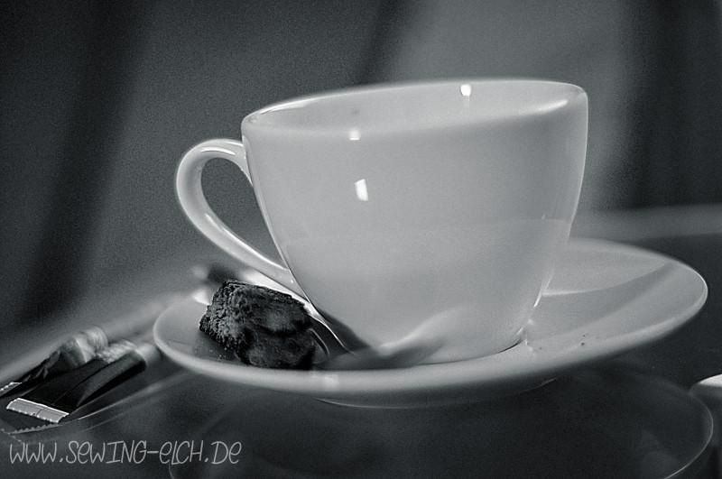 Kaffeetasse im Analog Bildstil